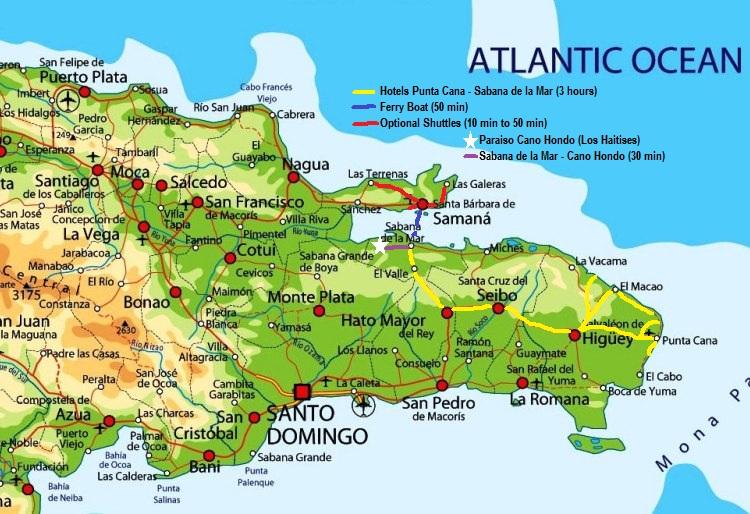 Dominican Shuttles | Ferry & Shuttles Service