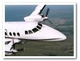 Scheduled flight service